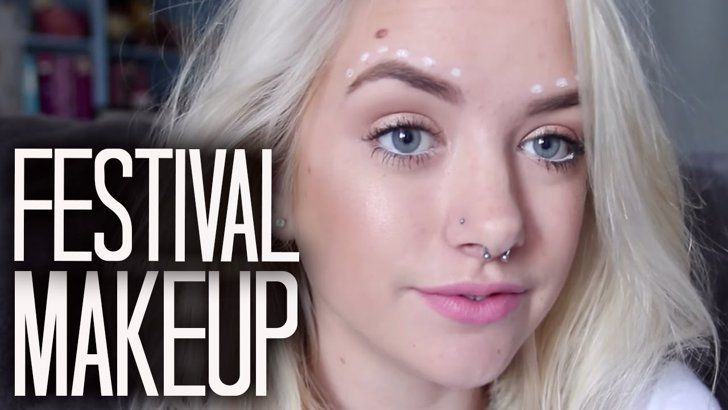 Pin for Later: 13 Easy Tutorials to Inspire Your Music Festival Makeup Look
