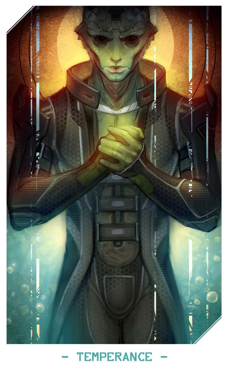 Thane,ME персонажи,Mass Effect,фэндомы,al-teya,таро
