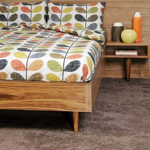 Orla Kiely Scribble Multi Stem Super King Duvet Cover