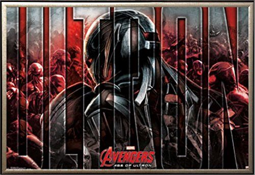 Framed Avengers 2 Age Of Ultron The Ultron 22x34 Poster In Gold Finish Wood Frame Poster Art House http://www.amazon.ca/dp/B00USC69SC/ref=cm_sw_r_pi_dp_xIKEvb09W9HBS
