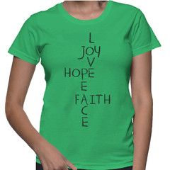 Peace T-Shirt - The women's Wise Words tee is made of 100% cotton for durability and comfort.