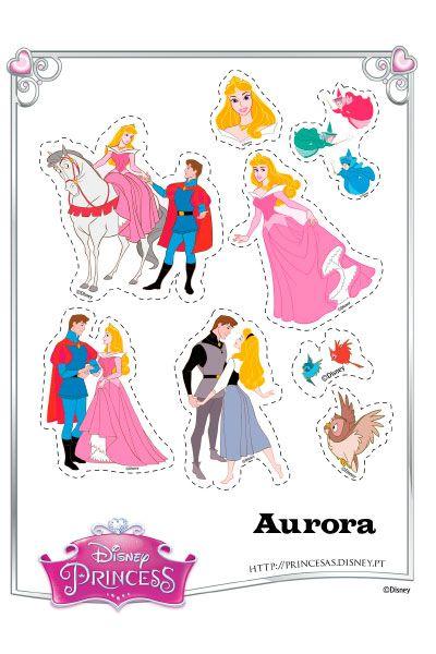 Autocolantes da Aurora