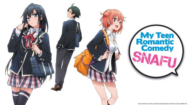 Uniforms from schools of several popular shows : anime