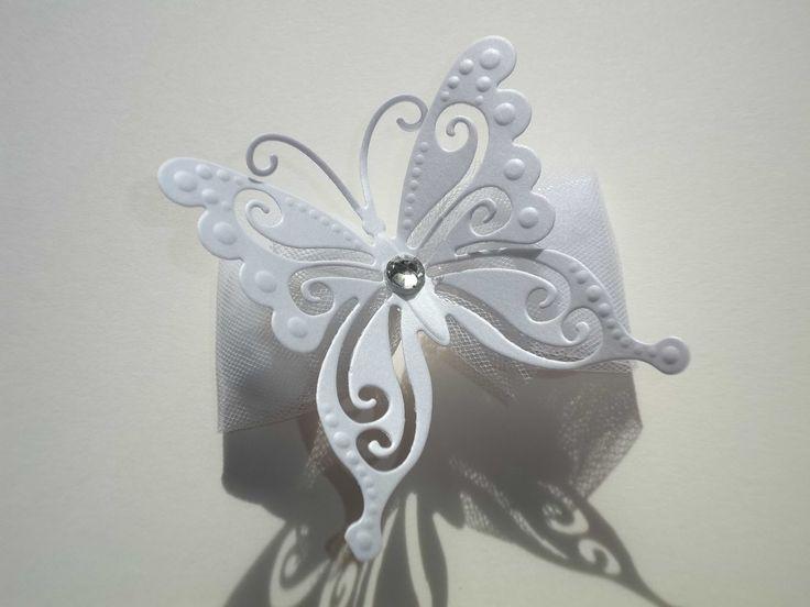 Sara Crea: Segnaposto farfalla, portaconfetti farfalla per matrimoni, battesimi, comunioni o cresime