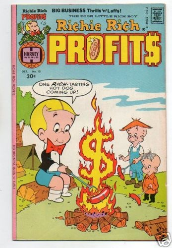 RICHIE RICH PROFITS :: 13 :: CAMPFIRE COVER | eBay