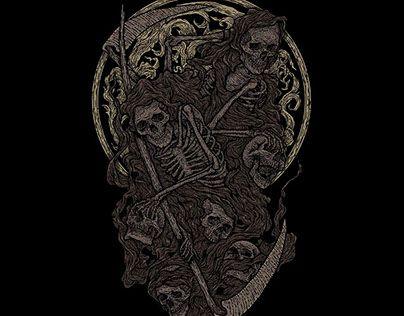 "Check out new work on my @Behance portfolio: ""skull"" http://be.net/gallery/51141943/skull"