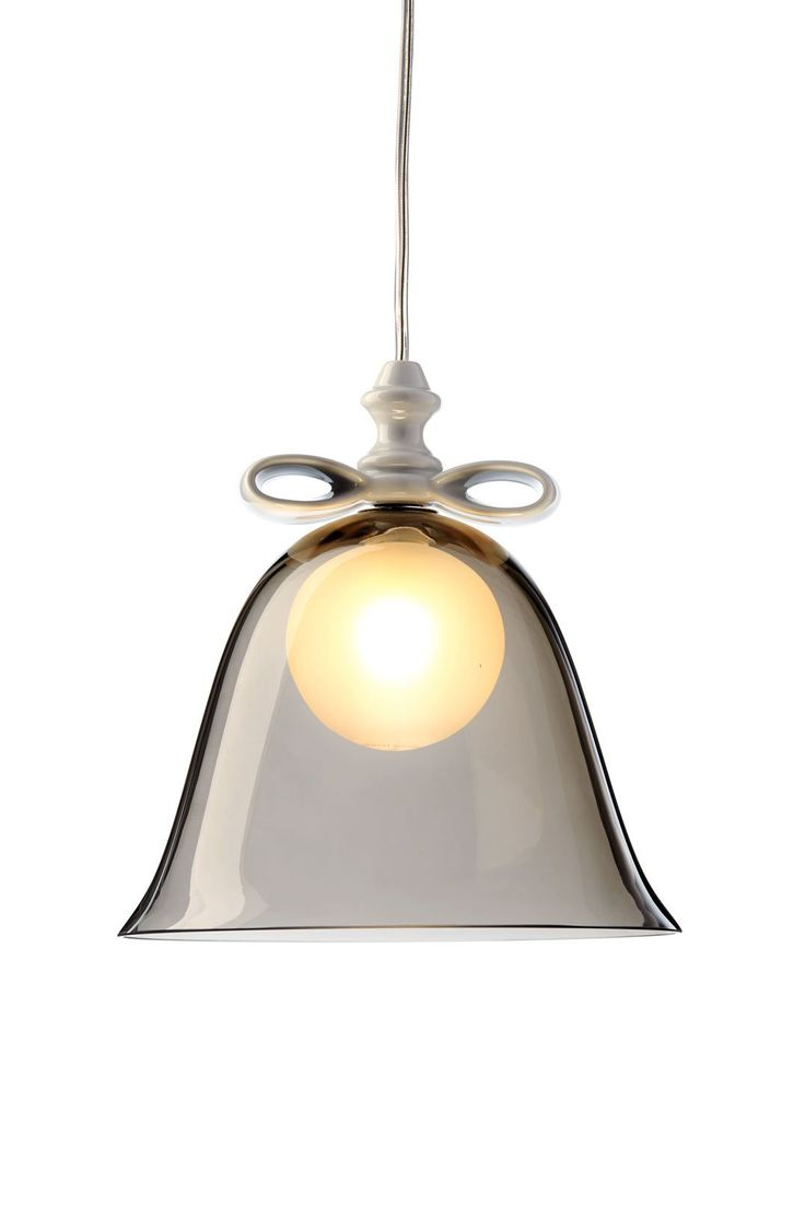 Captivating Bell Lamp Smoke White Great Ideas