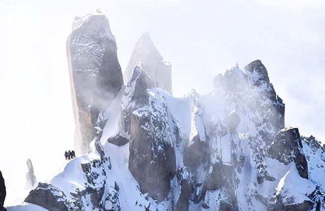 """The cool thing about this amazing work is when you ask someone what makes them Choose Mountains and they have a story similar to your own.... @ttarte is one of those people .  Photo by: (@ttarte) . Location: Aiguille du Midi, Chamonix, France .  We asked him what makes him #choosemountains and he said this: _______________________________________________________ . 🔻""""Eight years ago I was told if I wanted to recover my alcoholism I was going to need to find a power greater than myself. I…"""