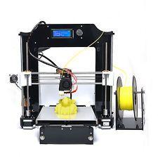 Precision Reprap Prusa i3 Impresora 3d Hágalo usted mismo kit de auto-ensamblaje con 1 Rollo filamento