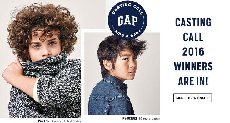 Gap, Gap Casting Call Winner, Gap Casting Call, Curly Hair Boy, Child Model, Kid Model