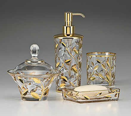 Crystal Bathroom Accessories Sets My Web Value