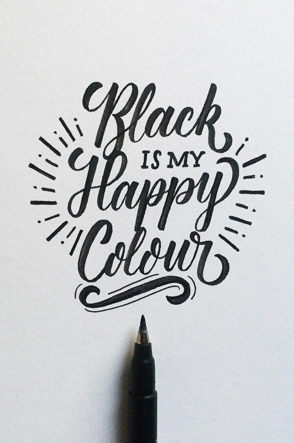 Belle typographie scripte, mais pour les promos on favorisera les couleurs ;) - Comcom-studio