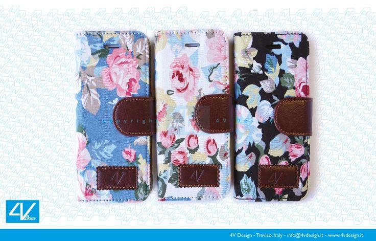 La collezione Trendy Flower in tre gamme di colori: bianco, nero ed azzurro