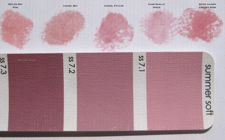 Soft Summer makeup matches