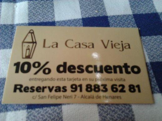 Con A tavola con il Conte conoce cómo nos fue la experiencia gastronómica en el Mesón Restaurante La Casa Vieja de Alcalá de Henares, en Madrid.