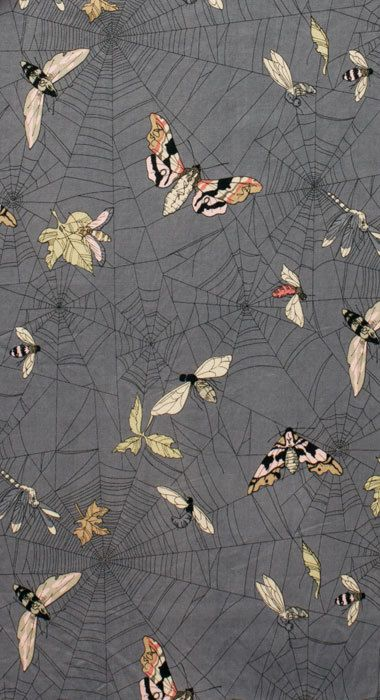A Ghastlie Web Spider webs with by PinkDoorFabrics on Etsy, $10.00