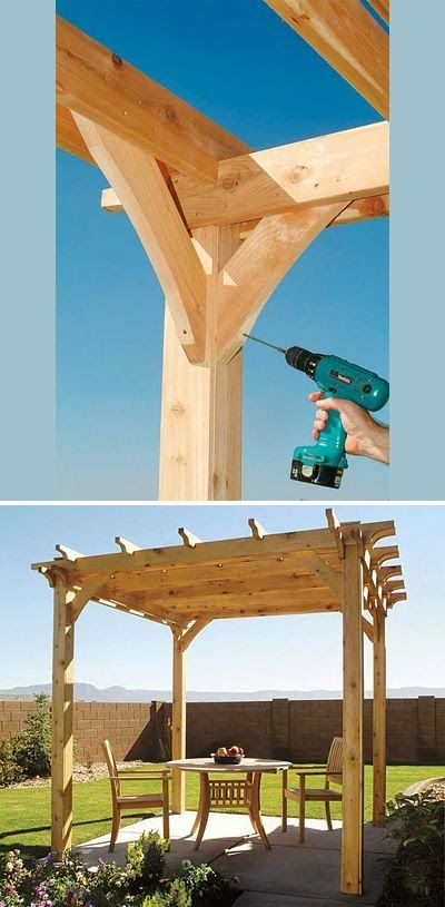 How To Build The Perfect Pergola! • Great Ideas and Tutorials! Including from 'popular mechanics', this how-to on building a backyard pergola..