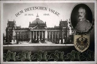 Dinge en Goete (Things and Stuff): This Day in World War 1 History: JULY 10, 1917 : GERMAN CHANCELLOR THEOBALD VON BETHMANN HOLLWEG RESIGNS