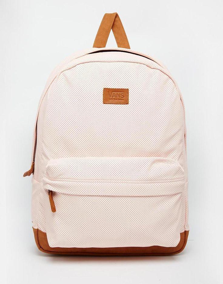 Vans Cameo Backpack in Pastel Pink