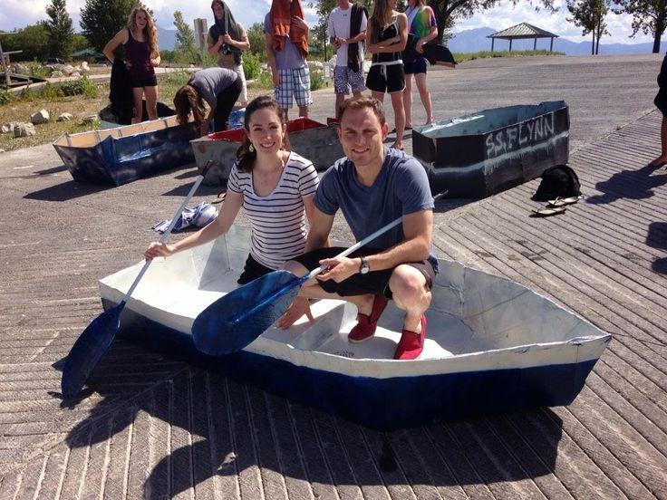 Cardboard boat regatta!!! How we did it | Instructables | pics