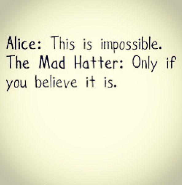 Alice In Wonderland Quotes Tumblr: Alice In Wonderland