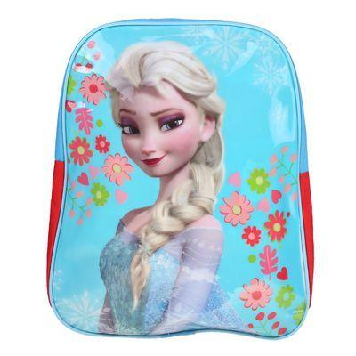 Ghiozdan Fetite Elsa Frozen turcoaz