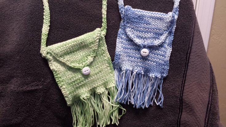 Small Purse with Fringe by FabNGrab on Etsy