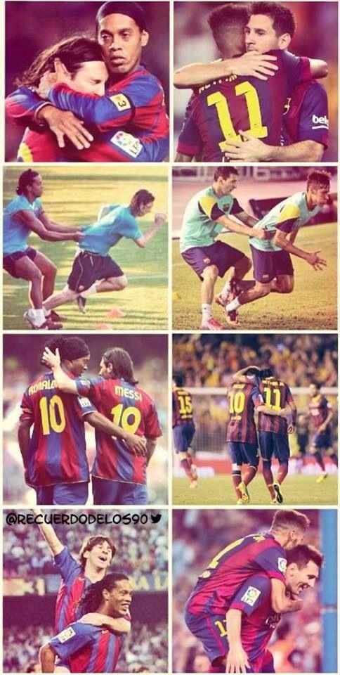 Ronaldinho Messi Neymar