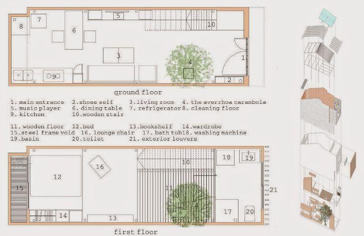 rumah idaman-rumah mungil-berukuran 3x9m