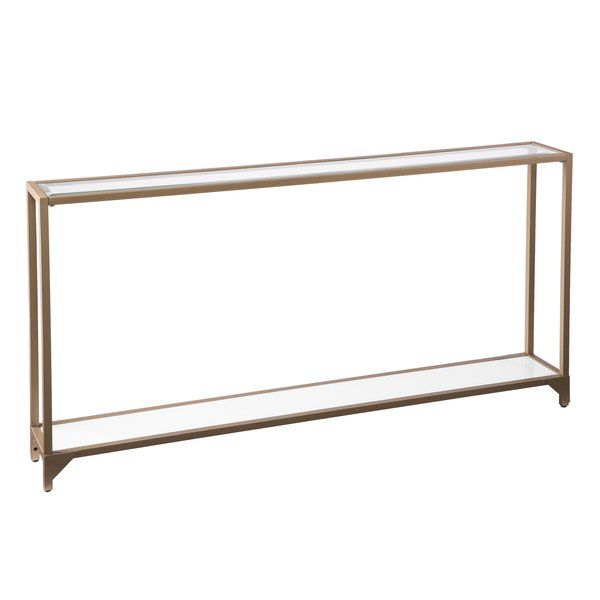 Benoit Console Table Metal Console Console Table Skinny Console Table