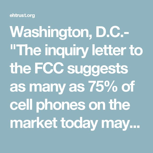 Washington, DC-  - an inquiry letter