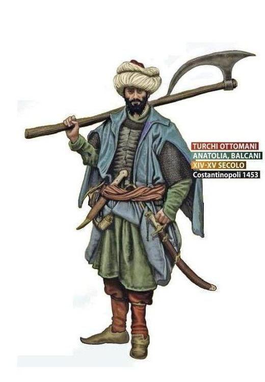 Османский пеший воин