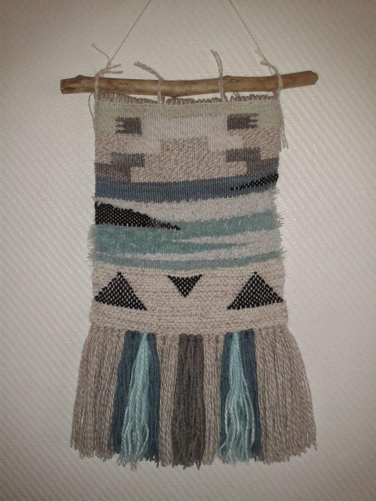 les 12 meilleures images du tableau mes creations tissage laine tapisserie hand weaving sur. Black Bedroom Furniture Sets. Home Design Ideas
