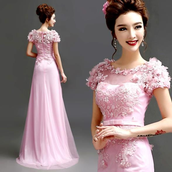 Cari Lebih Gaun Prom Informasi tentang Modis 2015 elegan merah muda lengan renda gaun panjang, Sexy melihat melalui pengadilan kereta ritsleting Prom dresses.7788,P Ty. Hd, Kualitas Tinggi dress tawar-menawar, dress nana China Pemasok, murah dress xxl dari zkc uncle Fashion Female Co., Ltd. pada Aliexpress.com