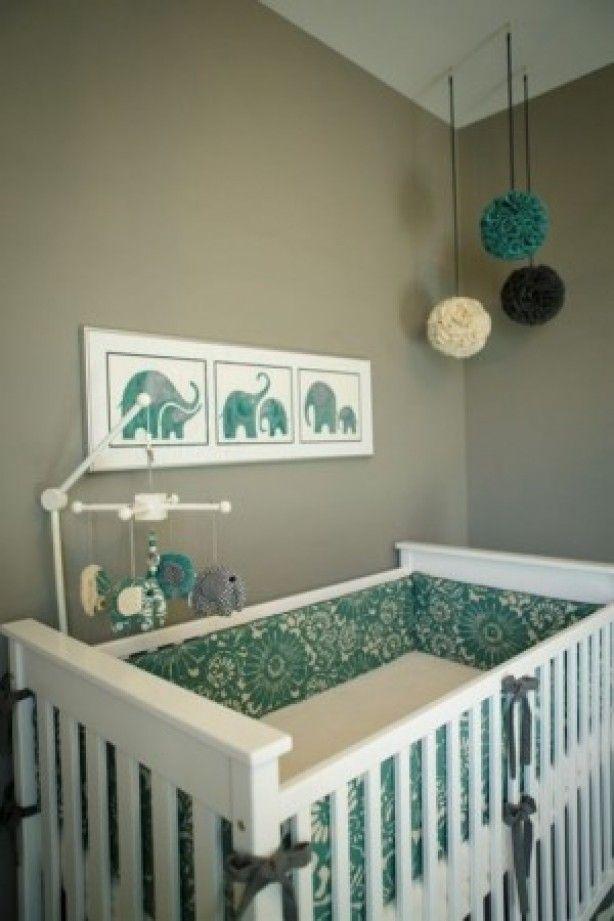 25+ beste ideeën over olifant babykamers op pinterest - olifant, Deco ideeën