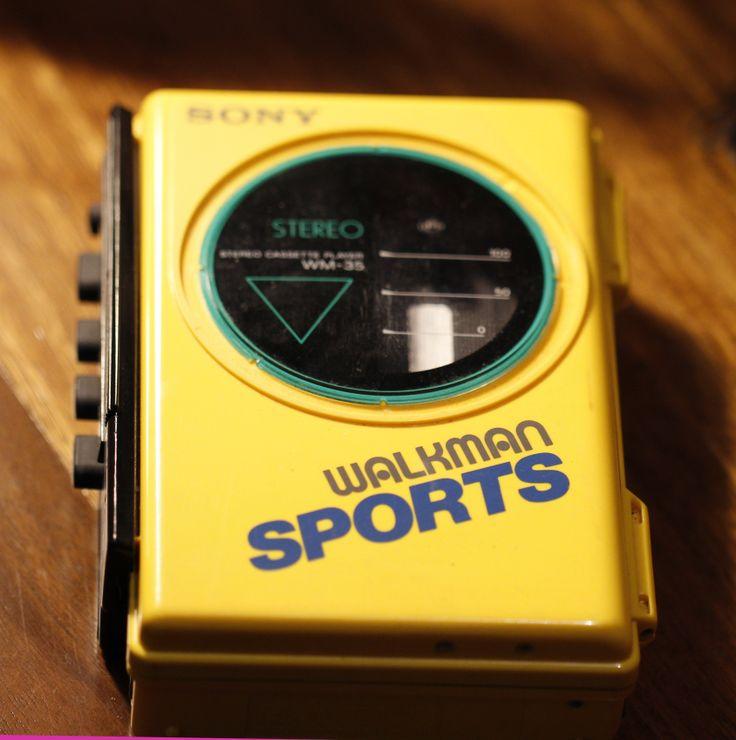 1980's Sony 'Sports' Walkman from Retro Technology display
