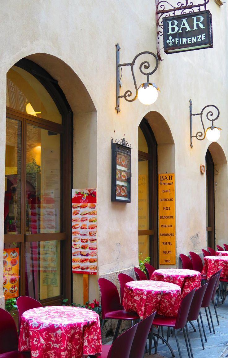 Bar Firenze - San Gimignano, Siena, Italy (by Cheryl D. D.)