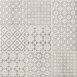 Seinälaatta Batik Harmaa - Bauhaus