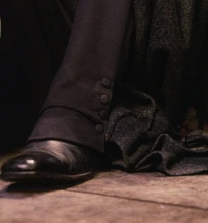Buttons and Boots of Severus Snape
