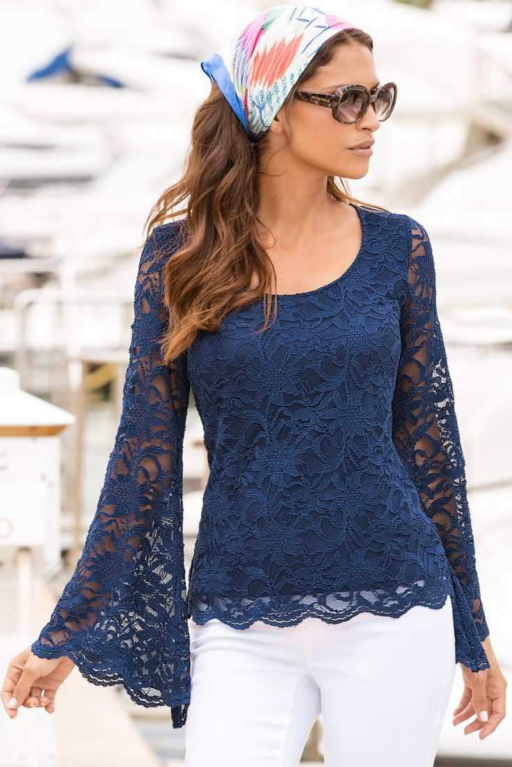 Boston proper animal lace ombre dress