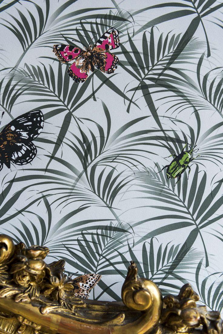 We Are Colour 2017 | ART #wallpaper #historical #muurverf #vlinder #behangpapier #schilderen #classicinterieur #interieur #kleur #bosspaints #trends2017 #wearecolour #coloradeverfwinkel #behang