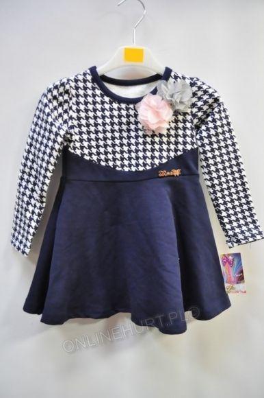 Sukienka Dziecięca ONL0145  _A12 (2-12)