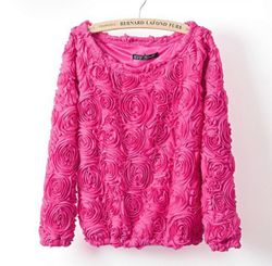 Rose Sweater - Pink