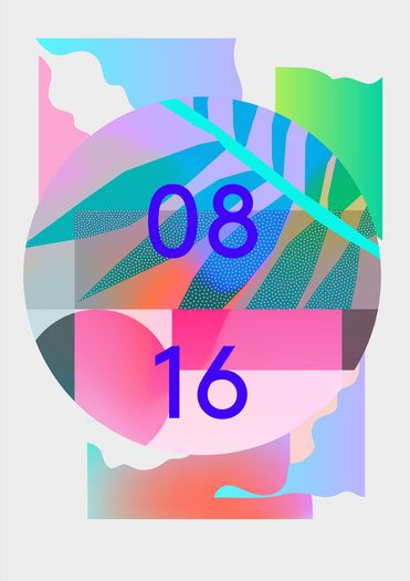 irradi 12 pattern 2 poster by Irradié