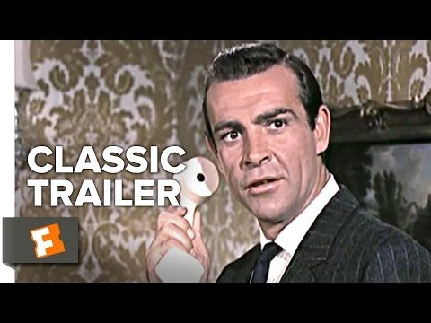 From Russia With Love (1963) Official Trailer - Sean Connery James Bond Movie HD - YouTube