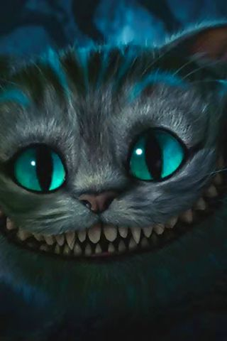 The Cheshire Cat.  LOVE HIM!!!!!!