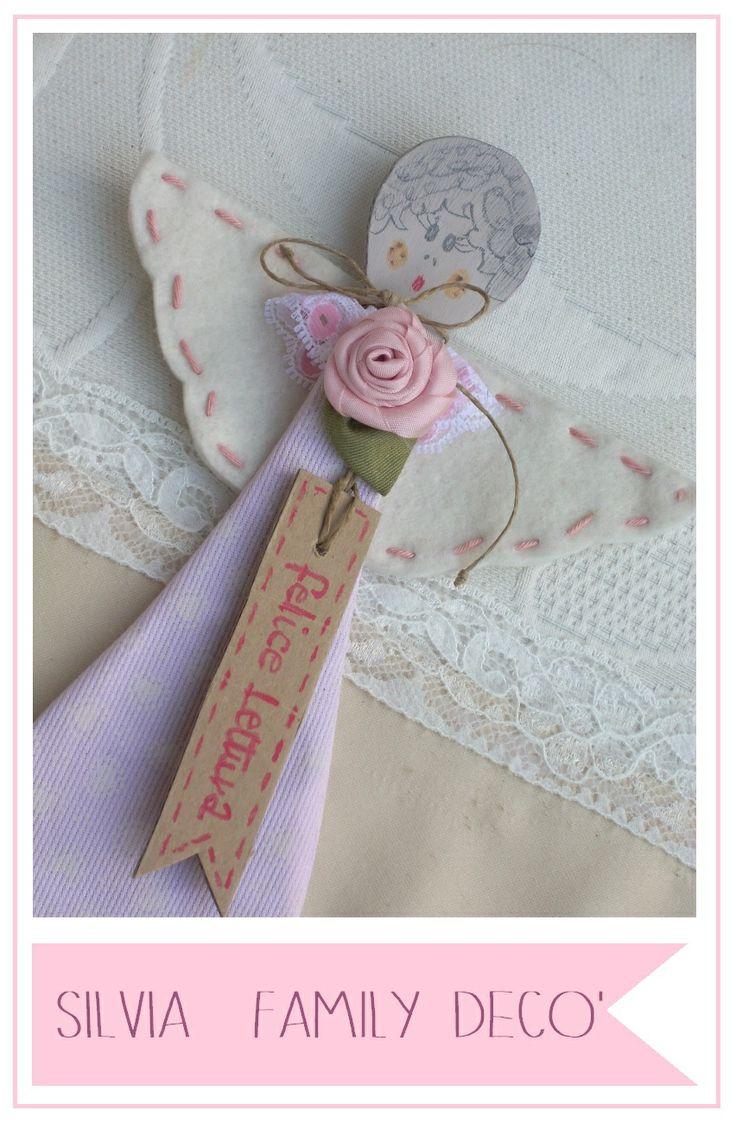 Segnalibri angelici http://silviaefamilydeco.blogspot.com/