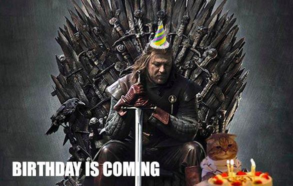 Funny Happy Birthday Meme Game Of Thrones : Game of thrones birthday