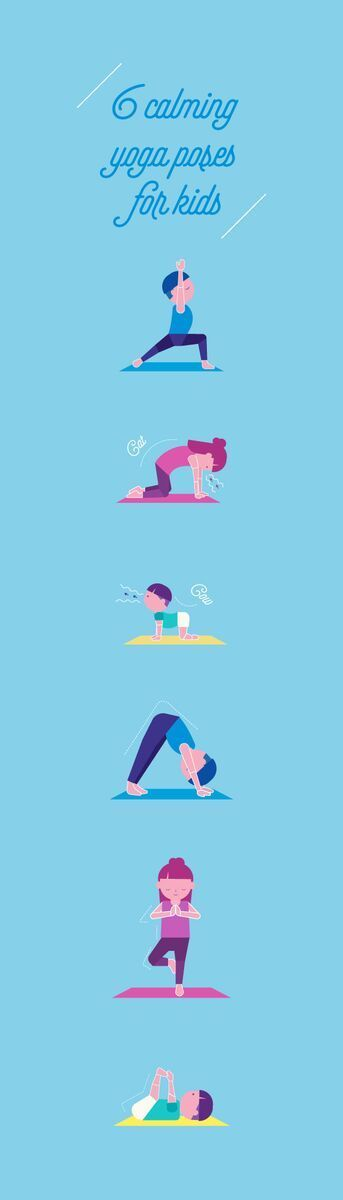 Yoga can help kids chill out, calm down, and focus. Try these relaxing poses with your child when you both are in need of some Zen.