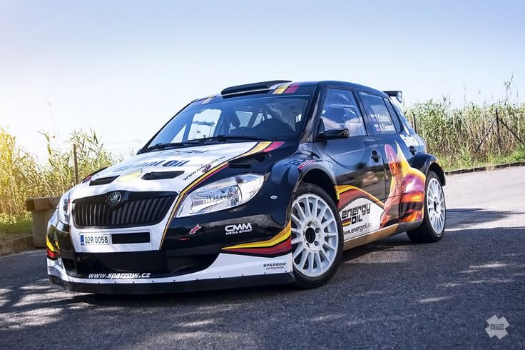 Srnka Motorsport - Škoda Fabia S2000 - design and wrap.